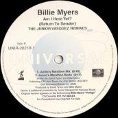 "Billie Myers, ""Am I Here Yet"""