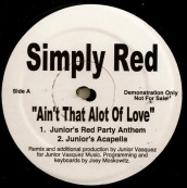 """Simply Red, """"Ain't That Alot Of Love"""" (Mosk)"""